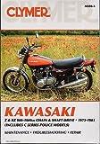 1973-1981 CLYMER KAWASAKI Z & KZ 900-1000CC & POLICE SERVICE MANUAL NEW M359-3