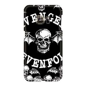 Shock Absorbent Hard Phone Case For Samsung Galaxy S6 With Customized Lifelike Avenged Sevenfold Series AlainTanielian