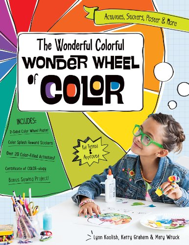 The Wonderful Colorful Wonder Wheel of Color: Activities, Stickers, Poster & More Fixed (Format Color)
