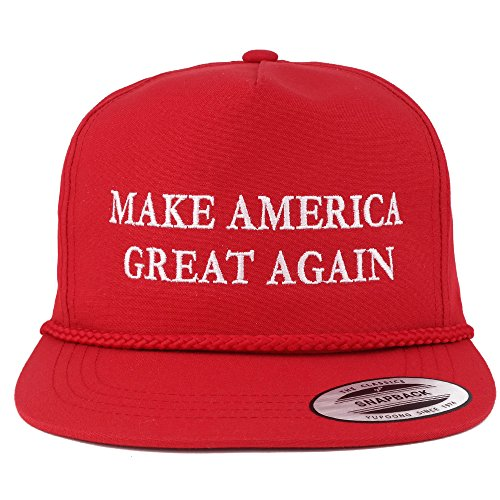 AC Racing Donald Trump Cap, Make America Great Again Hat - Quality Embroidered Ball Caps (One Size_Red)