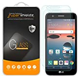 (2 Pack) Supershieldz for LG Harmony Tempered Glass Screen Protector, Anti Scratch, Bubble Free