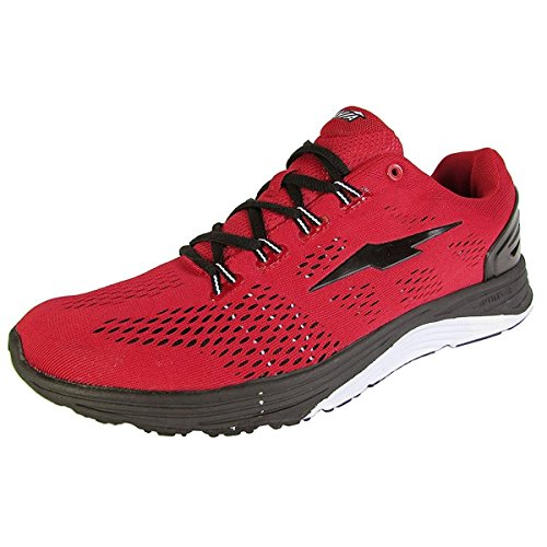 Avia Enhance Red Black Running Shoe