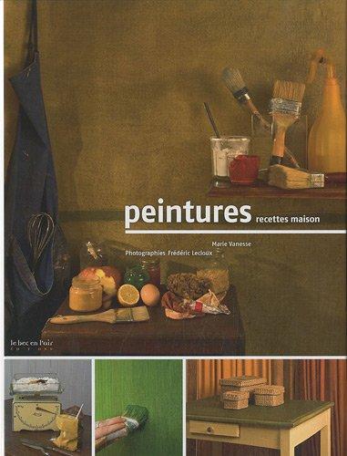 Peintures, recettes maison