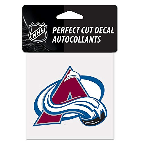 (WinCraft NHL Colorado Avalanche Perfect Cut Color Decal, 4