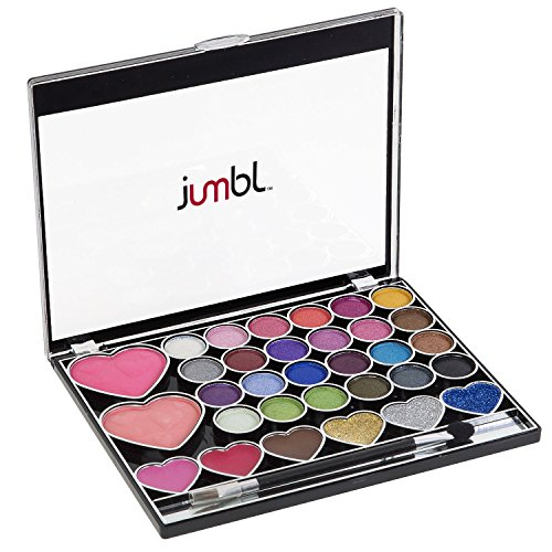 Jumbl Heart Makeup Kit + Jumbl Brush and Mirror