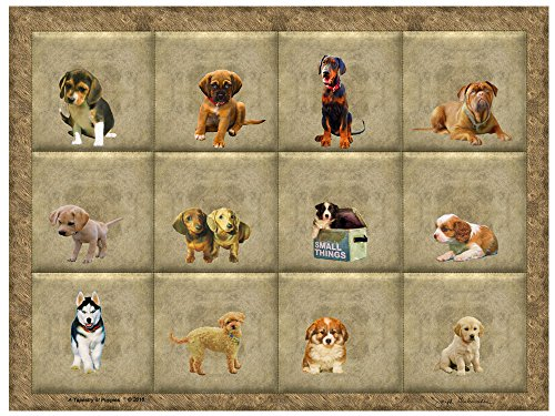 The Wrap Store Dog Art On Canvas A Wall Hanging Tapestry Poster
