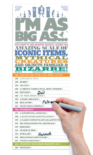 I'm As Big As, Height Chart, Fun Gift for Growing Kids - Luckies of London - Heights King Poster