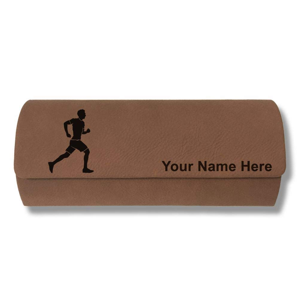 Running Man Sunglass Case Personalized Engraving Included