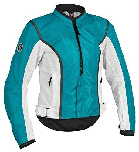 Firstgear Womens Contour Mesh Jacket - Firstgear Women's Contour Mesh Jacket - Blue/White Small - FTJ.1308.05.W001
