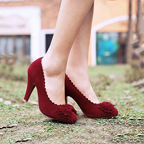 primavera EU36 ruvida dimensioni donna casual CN36 XUERUI scarpe confortevole da alto UK4 nuova con Scarpe col tacco Moda CwxXqZFq
