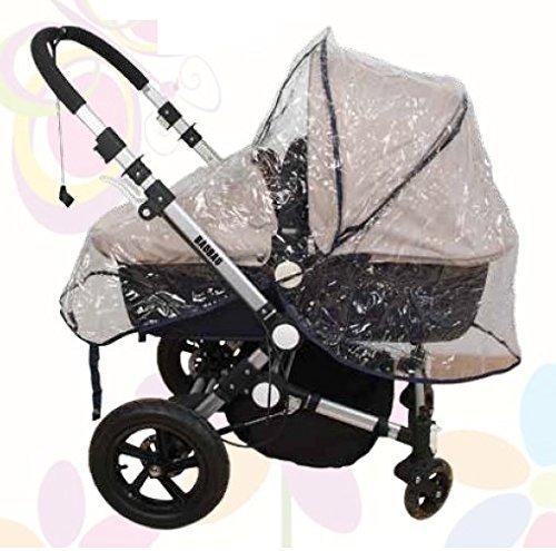 Burbuja de capazo para la lluvia. Protector de lluvia para bebés: Amazon.es: Bebé