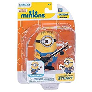 Thinkway Toys Despicable Me Minion Stuart with Guitar 20136 Action Figure