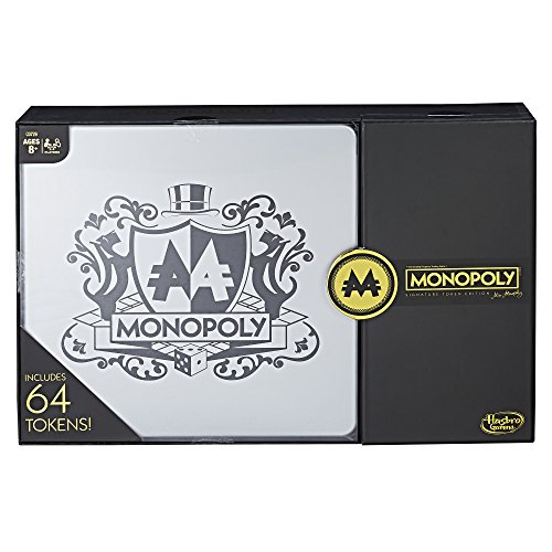 Anniversary Collectors Edition Monopoly - Hasbro Gaming Monopoly Signature Token Collection