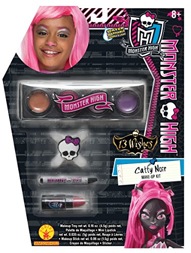 (Rubies Monster High 13 Wishes Catty Noir Make-Up)