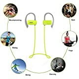 Bluetooth Headphones,EarTime G18 Wireless 4.1 Bluetooth Headset Stereo Sound Super Bass Noise Cancelling Sports Sweat-proof Earphones In-ear Earbuds for iOS and Android Cellphone