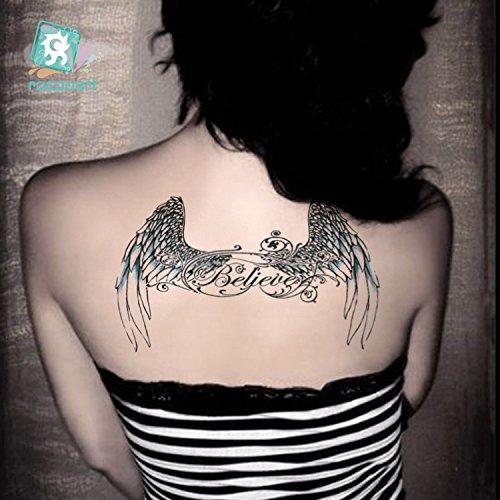 Flügel Tattoo Flash Tattoo Bc208 Amazonde Beauty