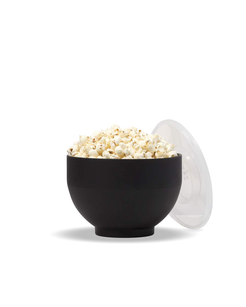 W&P WP-POP-CH Microwave Silicone Popcorn Popper Maker, Collapsible Bowl, BPA, Eco-Friendly, Waste Free, 9.3 Cups, Charcoal