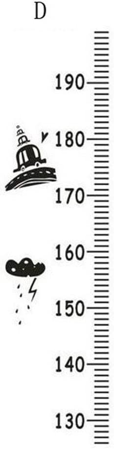 xiangshang shangmao Childrens Height Growth Chart Measure Wall Hanging Ruler Decal Kids Room Triangle