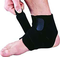 I-M Lycra/Far Infrared Ankle Support - Free Size