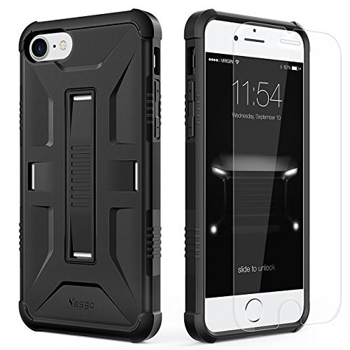 iPhone 7 Case iPhone 8 Case, Yesgo Military Heavy Duty Hybrid Rugged Protective Case for Apple iPhone 7/8 Non-slip...