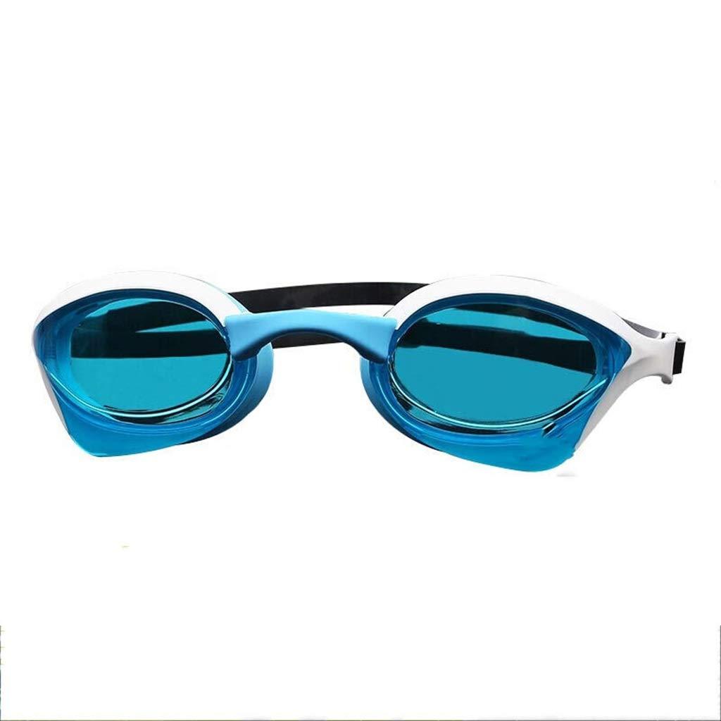 A  Lunettes de natation Hommes et Femmes compétition Professionnelle HD étanche et Anti-buée Anti-UV