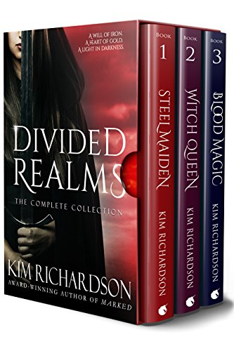 Divided Realms, The Complete Collection: Steel Maiden, Witch Queen, Blood Magic cover