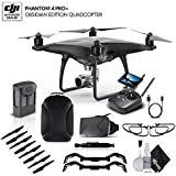 DJI Phantom 4 Pro+ Obsidian (CP.PT.00000023.01) With BackPack and VR Viewer Bundle