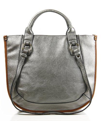 Designer Inspired Bonhill Tote/Handbag - Dark (Inspired Tote Handbag)