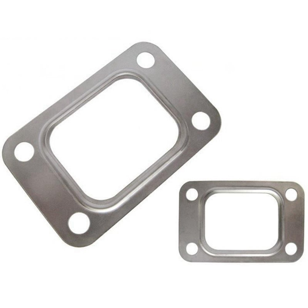 10pcs T25 T28 GT25 GT28 GT2876 Turbo Turbine Exhaust Inlet Manifold Flange Gasket 304 Stainless Steel YiPin EP-CGQ12D