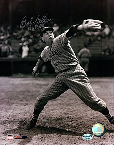 Bob Feller Signed 8X10 Photo Autograph