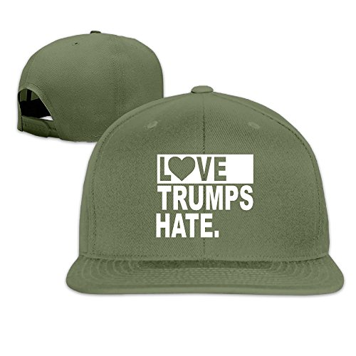 Unisex Love Trumps Hate 2016 Vote Baseball Cap Flat Bill