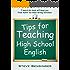 Tips for Teaching High School English