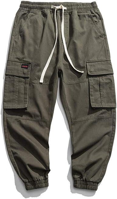 N A Pantalones De Moda Callejera Para Hombres Pantalones De Carga Casual Pantalones De Trabajo Pantalones Para Adolescentes Y Ninos Pequenos Pantalones Sueltos Amazon Es Ropa Y Accesorios