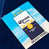 Corona Logo Beach Towel 30 x 60 inch 100% Cotton