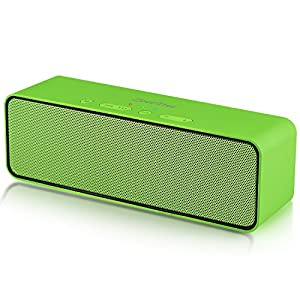Wireless Bluetooth Speaker, ZoeeTree S4 Portable Stereo Subwoofer with HD Sound and Bass, Built-in Mic, Bluetooth 4.2, FM Radio and TF Card Slot, Outdoor Speakers for iPhone, iPad, Samsung etc