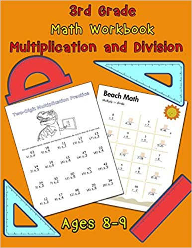 3rd Grade Math Workbook Multiplication And Division Ages 8 9 Math Workbook Multiplication Worksheets And Division Worksheets For Grade 3 Nisclaroo 9781706075813 Amazon Com Books