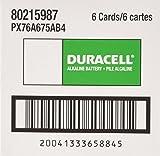 Duracell Alkaline 76A Batteries - 4 Ct