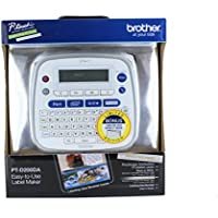 Brother P-Touch PT-D200DA Label Maker W/ Bonus Tape + Labeling Idea Booklet by P-Touch