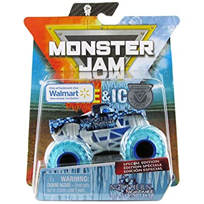 Monster Jam 2020 Fire & Ice Exclusive Northern Nightmare 1:64 Scale Diecast by Spin Master: Toys & Games