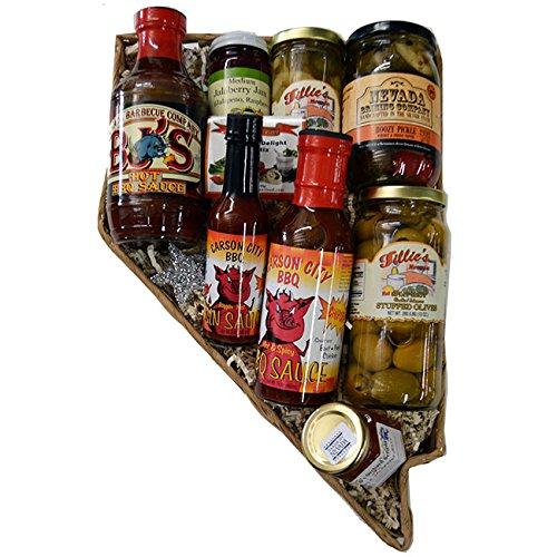 Nevada Shaped Hot & Spicy by Flag Store of Nevada Inc.