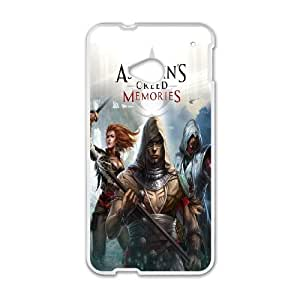 Assassin's Creed theme pattern design For HTC ONE M7 Phone Case
