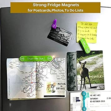 SUNFICON Cable Clips Large Eye Owl Headphone Cable Organisers Magnetic Earbuds Cord Winder Manager Keeper Bookmark Whiteboard Fridge Magnets USB Cable Ties Straps Holder Home Office School Kitchen