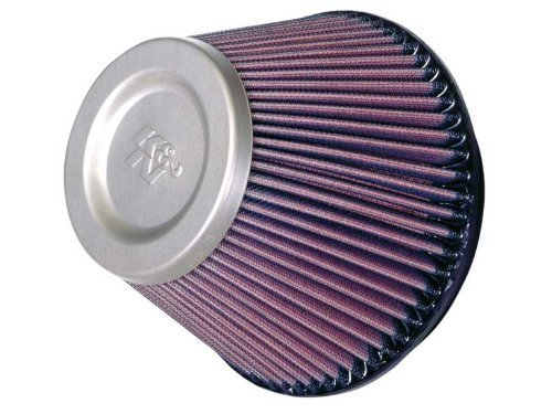 K&N RT-4590 Universal Air Filter - Titanium Top by K&N