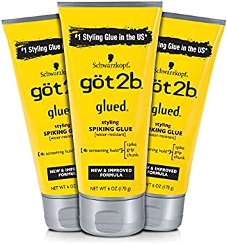 3-Count Got2b Styling Spiking Hair Glue, 6 Ounce