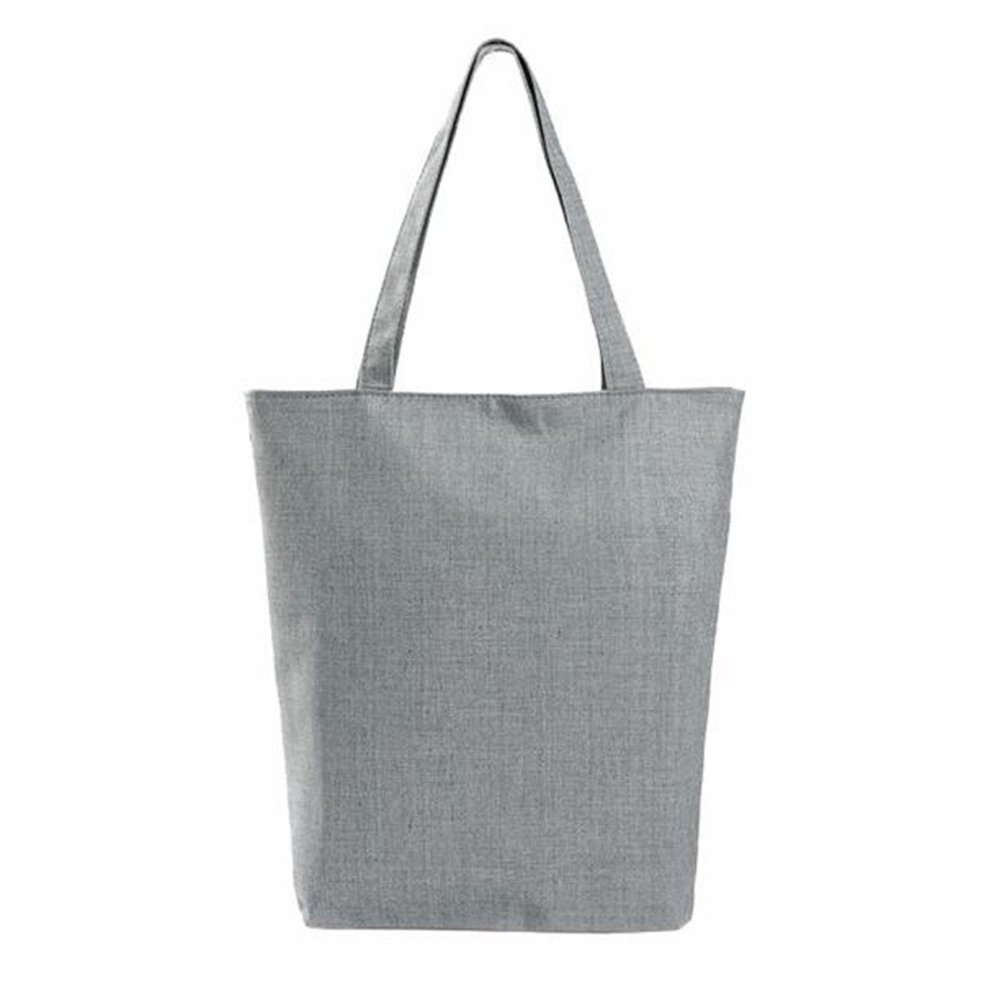 Color E NUOLUX Paris Tower Canvas Tote Casual Beach Bags Women Shopping Bag Handbags