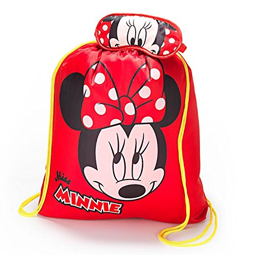 (Avon Minnie Mouse Character Sleeping Bag with Eye Mask And Drawstring Bag)