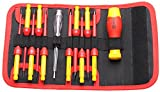 1000v insulated tool sets - BOOHER 0200103 12-Piece 1000V Insulated Changeable Screwdriver Set