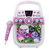 Spin Master Hatchimals Flashing Light CD+G Karaoke Machine