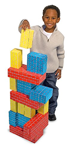 Melissa & Doug Extra-Thick Cardboard Building Blocks - 24 Blocks in 3 Sizes by Melissa & Doug (Image #4)