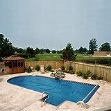 Aqua Splash 16 Ft. In Ground Swimming Pool Solar Cover Blanket Reel